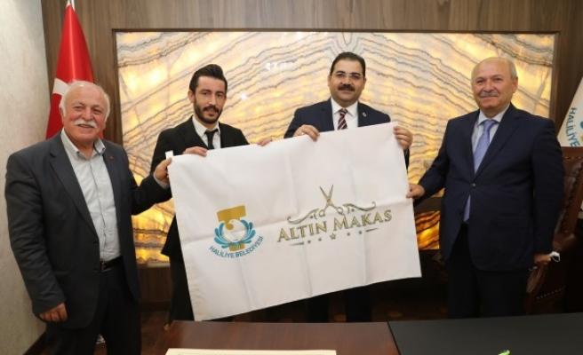 """Haliliye Belediyesinden """"Altın Makas"""" projesi"""