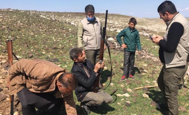 Şanlıurfa'da kaçak avcı yakalandı