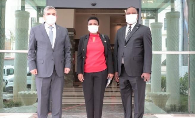 Afrikalı Büyükelçi'den Şanlıurfa ziyareti