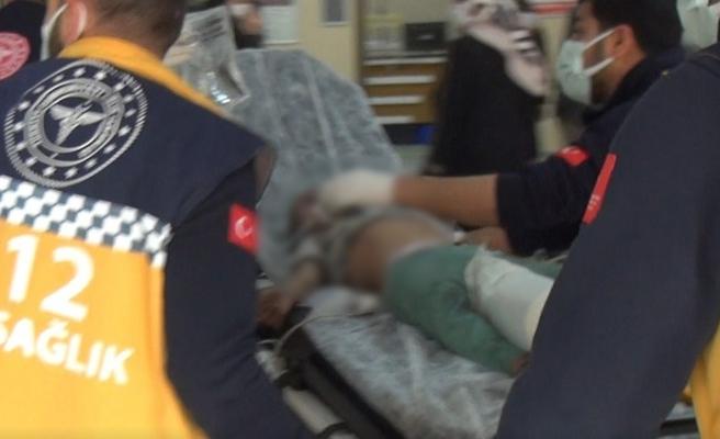 Karaköprü'de ev yangını: 2 ağır yaralı