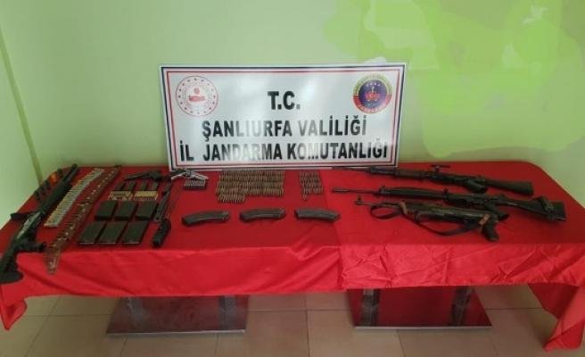 Şanlıurfa'da silah kaçakçılarına operasyon!