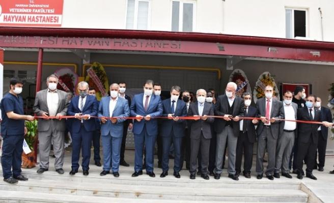 Şanlıurfa'da Hayvan Hastanesi açıldı