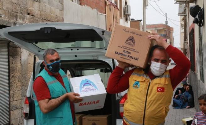 Ramazan öncesi ihtiyaç sahiplerine yardım yapıldı