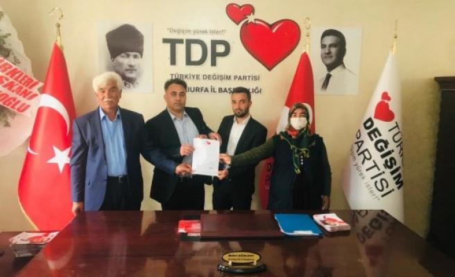 TDP Halfeti ilçe başkanı açıklandı
