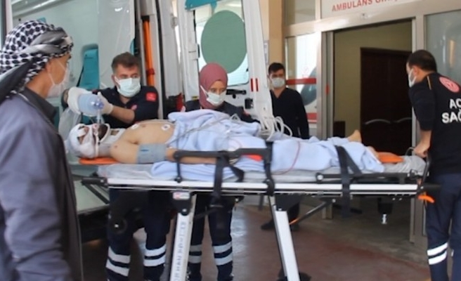 Siverek'te feci kaza: 1 ağır yaralı
