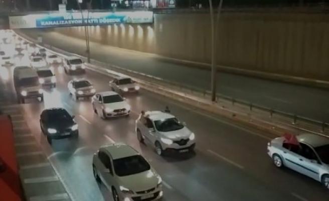 Şanlıurfa'da Filistin'e destek konvoyu!