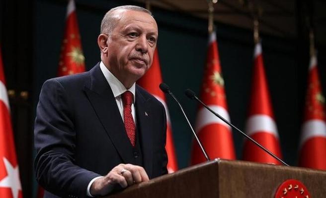 Erdoğan'dan kademeli normalleşme müjdesi
