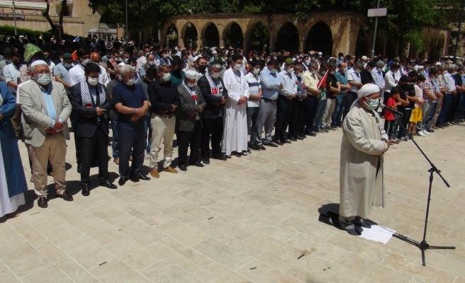 Şanlıurfa'da gıyabi cenaze namazı kılındı
