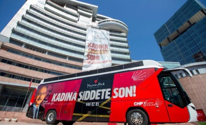Yaşam Hak Otobüsü Şanlıurfa'ya geliyor