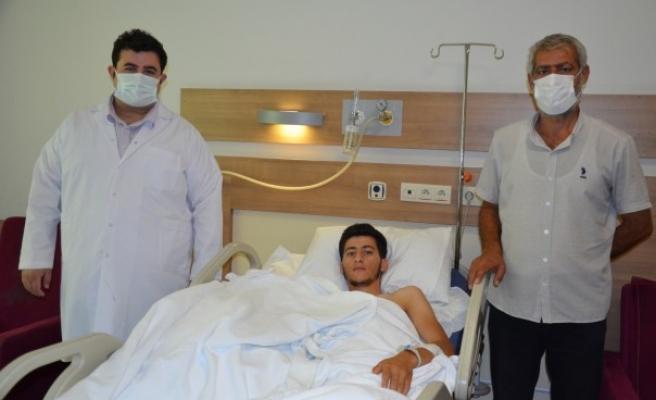 Mardinli genç, Şanlıurfa'da sağlığına kavuştu