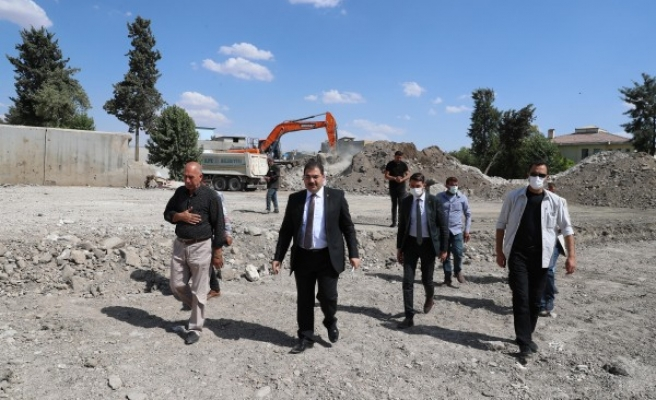 Sancaktar Mahallesi'ndeki proje için düğmeye basıldı