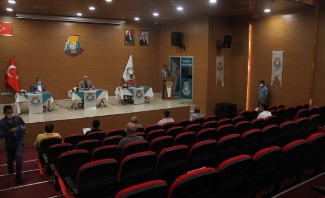 Haliliye Meclisi'nde önergeler rapora bağlandı