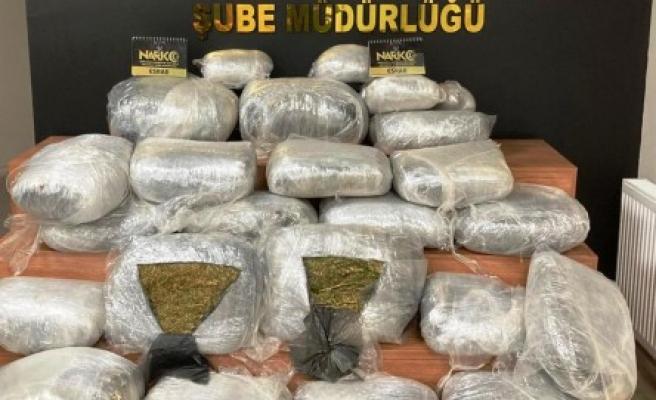 Uyuşturucu operasyonu: 125 kilogram madde ele geçirildi