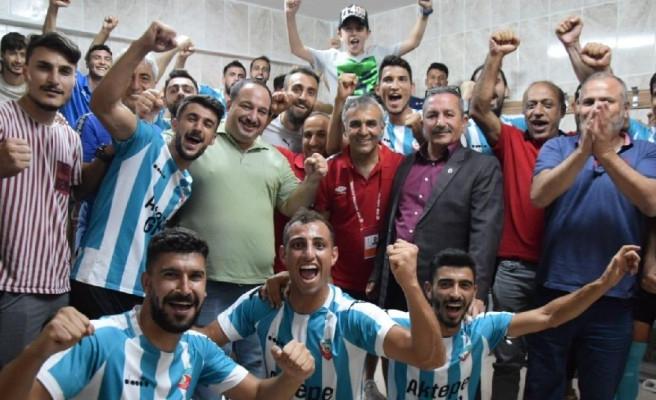 Viranşehir Belediyespor'dan 5-0'lık galibiyet!
