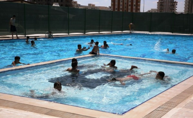 Karaköprü'de yüzme havuzu açılıyor