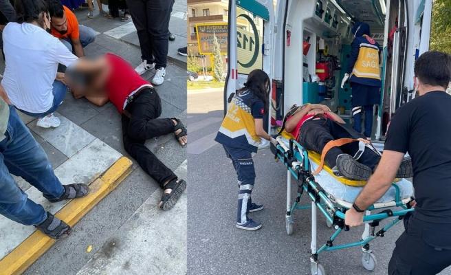 Hatalı sollama kaza getirdi: 1 yaralı