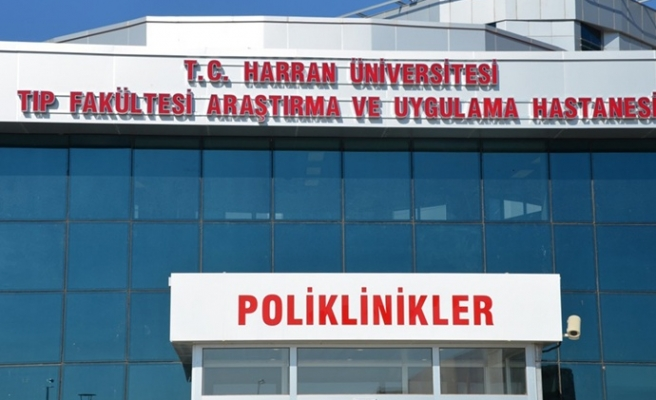 Harran Üniversitesi Hastanesi'nde bir bölüm daha kapandı!