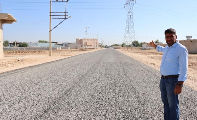 Suruç kırsalı sathi asfaltla buluştu