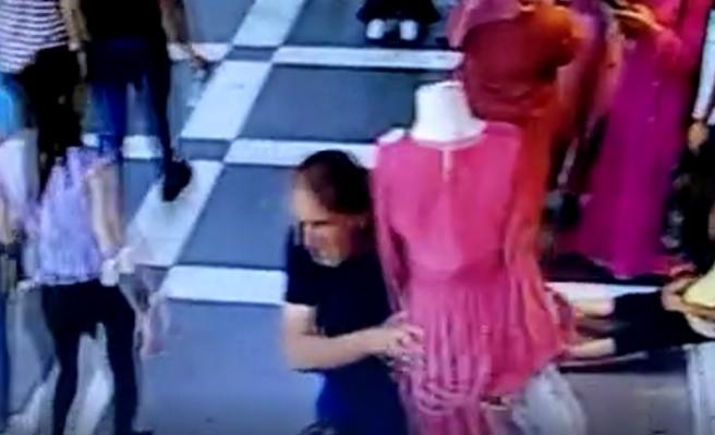 Şanlıurfa'da cansız manken çalan şahıs gözaltına alındı