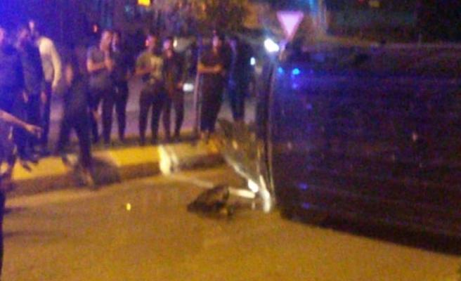 Urfa'da cip takla attı: 2 yaralı