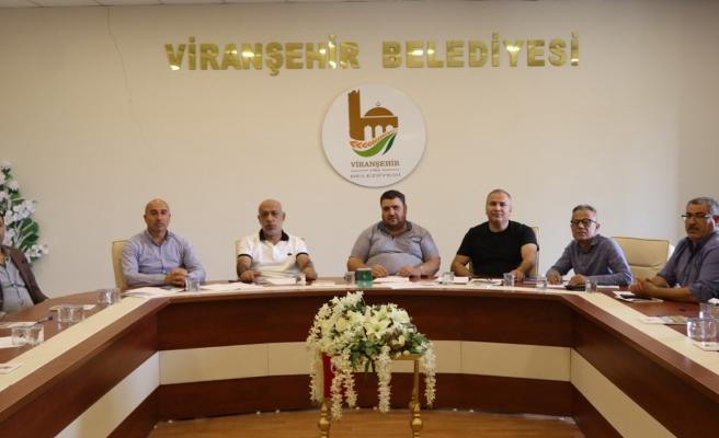 Viranşehir Belediyespor'da sezon öncesi ilk toplantı