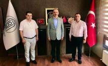 Vali Erin'den ŞURKAV Ankara Şubesine ziyaret