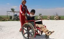 Akçakale'de engelli çocuğun talebi karşılıksız kalmadı