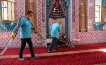 Haliliye'deki ibadethanelerde bayram temizliği