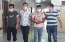 Araması bulunanlara operasyon: 4 gözaltı
