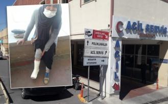 Şanlıurfa'da köpek yaşlı kadına saldırdı!