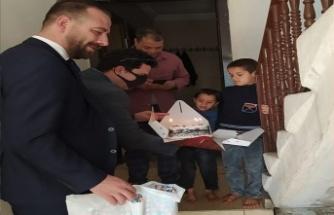 Akçakale'de Çocuklara Sürpriz Kutlama