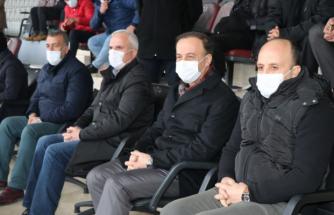 Vali Erin Şanlıurfaspor maçını izleyerek destek verdi
