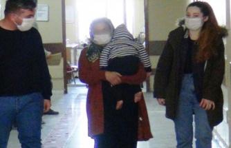 Şanlıurfa'da kundaktaki bebekle hırsızlık yapmaya çalışan kadın gözaltına alındı (EK)