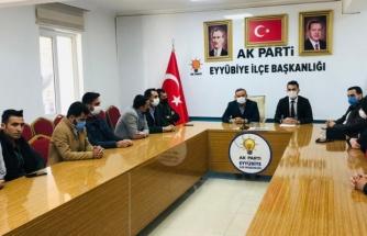 AK Parti Eyyübiye Gençlik Kolları'nda yürütme kurulu belli oldu