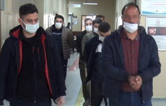Şanlıurfa'da 11 şüpheli adliyeye sevk edildi (EK)