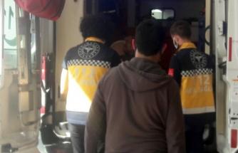 Karaköprü'de trafik kazası:1 yaralı