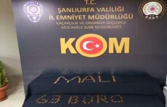 Şanlıurfa'da sahte altın operasyonu: 14 gözaltı