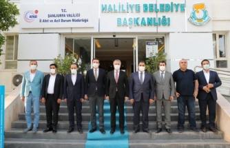 Urfa'da Cumhurbaşkanı'nın talimatına uyan tek belediye Haliliye