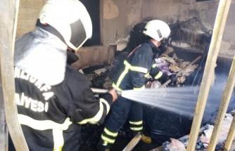 Eyyübiye'de ev yangını korkuttu