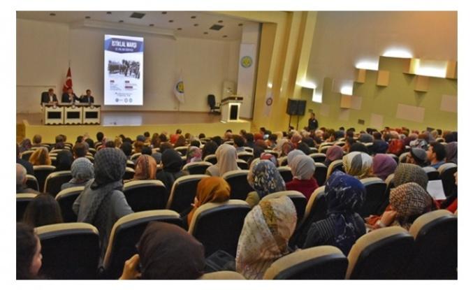 Harran'da 'İstiklal Marşı' etkinliği düzenlendi.