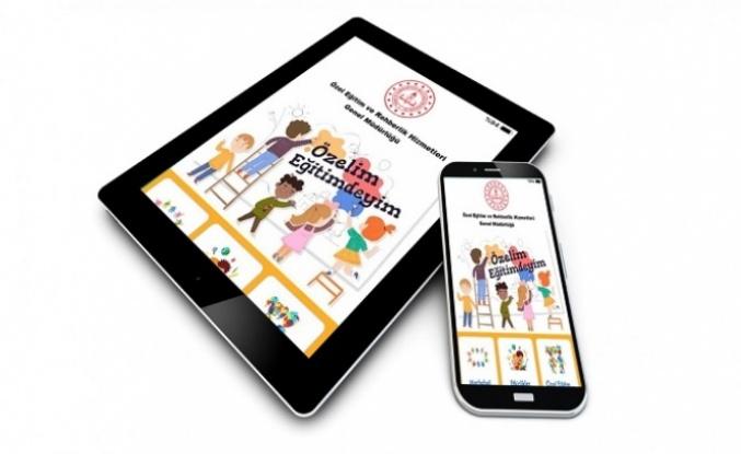 'Özel Eğitimdeyim' Mobil Uygulaması Hayata Geçiyor