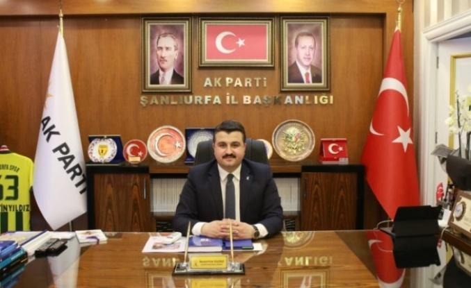 AK Parti Şanlıurfa İl Başkanı'ndan flaş adaylık açıklaması!