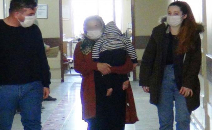 Şanlıurfa'da kundaktaki bebekle hırsızlık yapmayan çalışan kadın gözaltına alındı