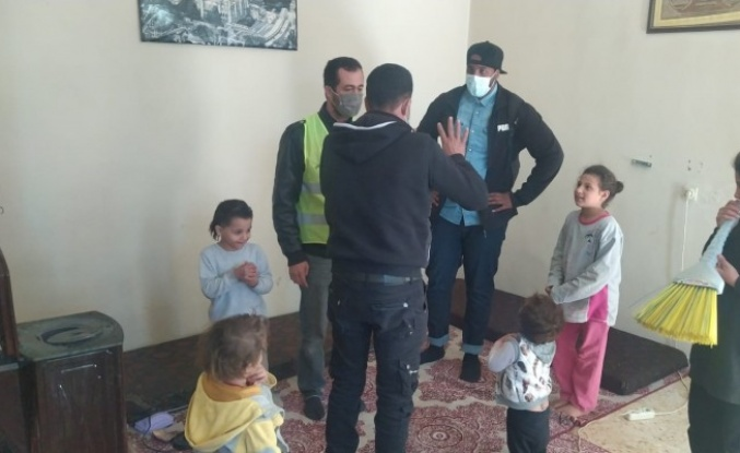 Urfa'da terk edilen çocuklar yeni yuvalarına kavuştu