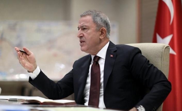 Bakan Akar: Ermenistan İşgal Ettiği Toprakları Boşaltmalı ve Paralı Askerleri Geri Göndermelidir
