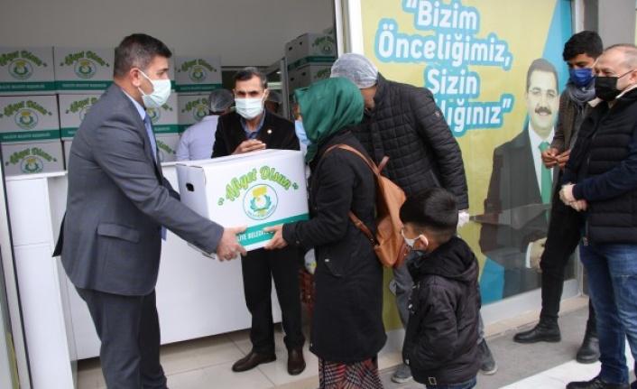 Haliliye Belediyesi'nden çölyak hastalarına yardım