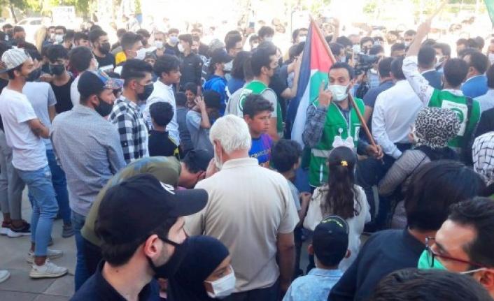 Şanlıurfa'da İsrail'e karşı protestolar çığ gibi büyüyor