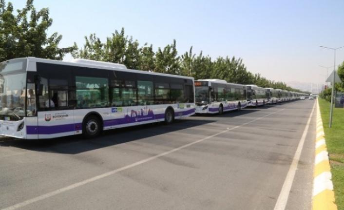Şanlıurfa'da toplu taşımada sefer değişikliği
