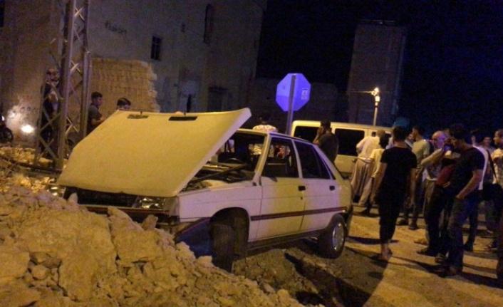 Şanlıurfa'da kırmızı ışık ihlalinde araçlar çarpıştı!